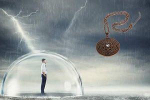 mogočni predmeti bele magije, ki varujejo pred zlom